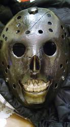 Burned Jason Mask by EliteSaiyanWarrior