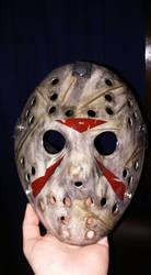 Jason Mask by EliteSaiyanWarrior