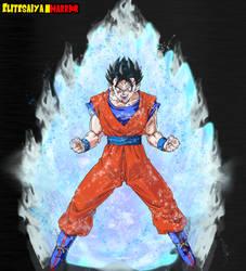 Ultra Instinct Gohan by EliteSaiyanWarrior