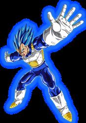 Super Saiyan Blue Evolution by EliteSaiyanWarrior