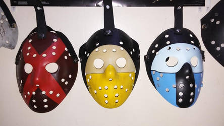 Cyclops,Scorpion,SubZero Jason Masks by EliteSaiyanWarrior