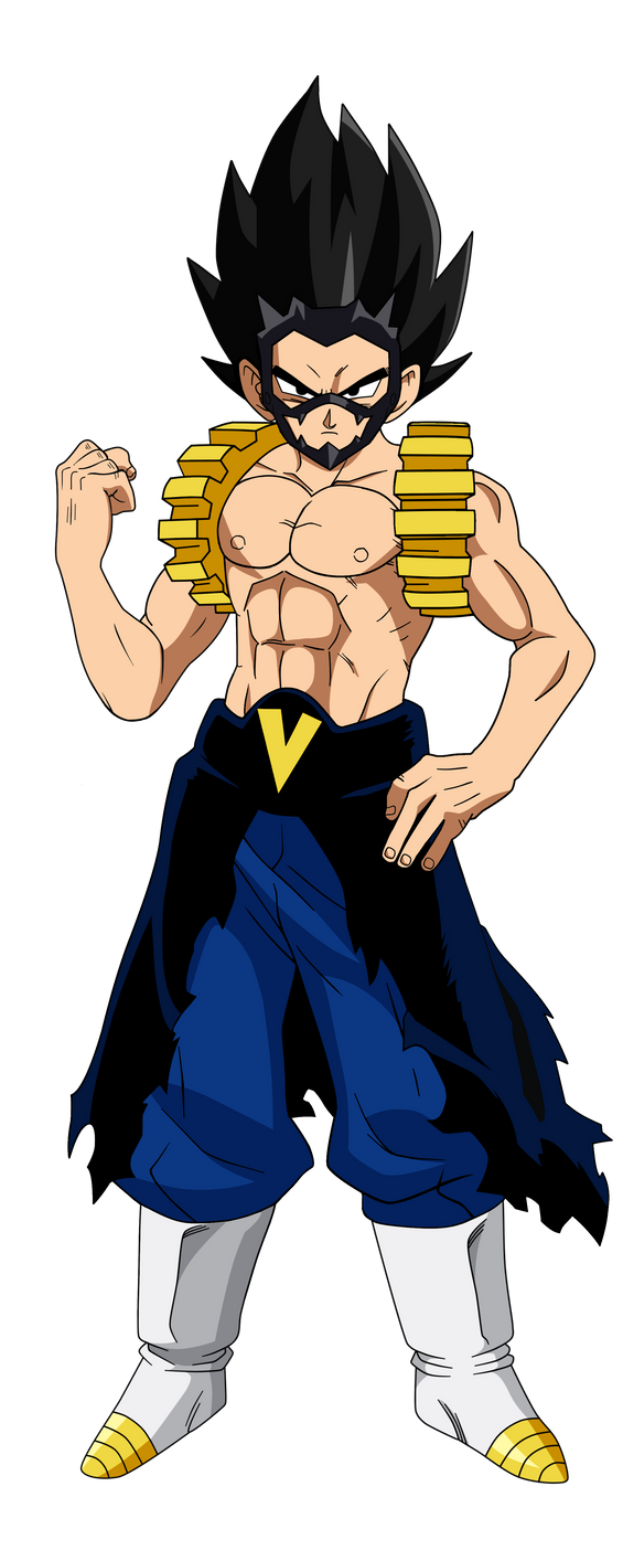 Vegeta in Kirishima Hero Attire