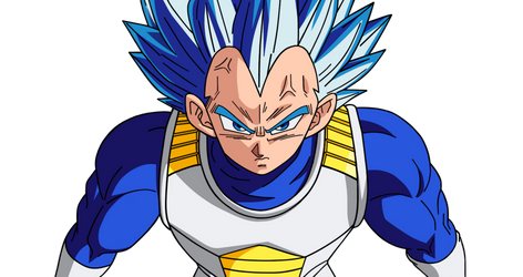 Vegeta Ssj Blue Evolution