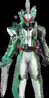 Kamen Rider Iwatobi II Saber [Fan-Made]