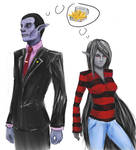 Marceline and Hunson Abadeer