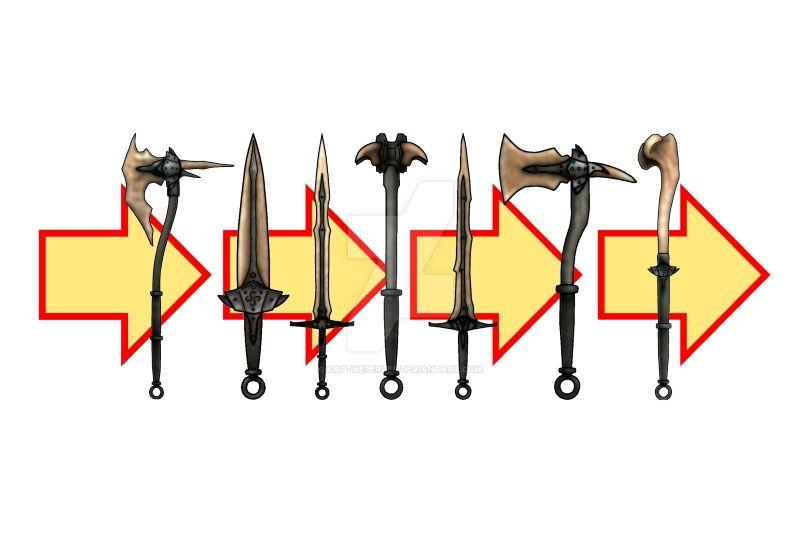 Skyrim Dragonbone Weapons By Kattheperler On Deviantart