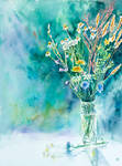 Aromatic wild flowers by magicalwatercolor