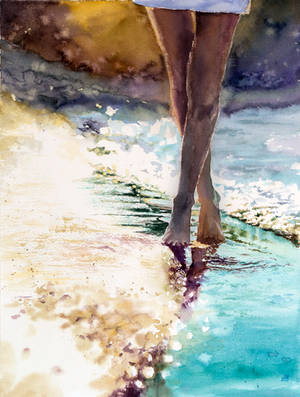 Summer Feeling, Water element by magicalwatercolor