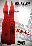 'Normaal' theatre poster.