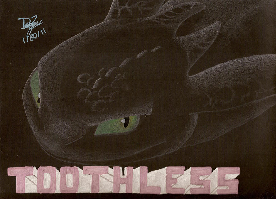 My Toothless by Dizzidragonz