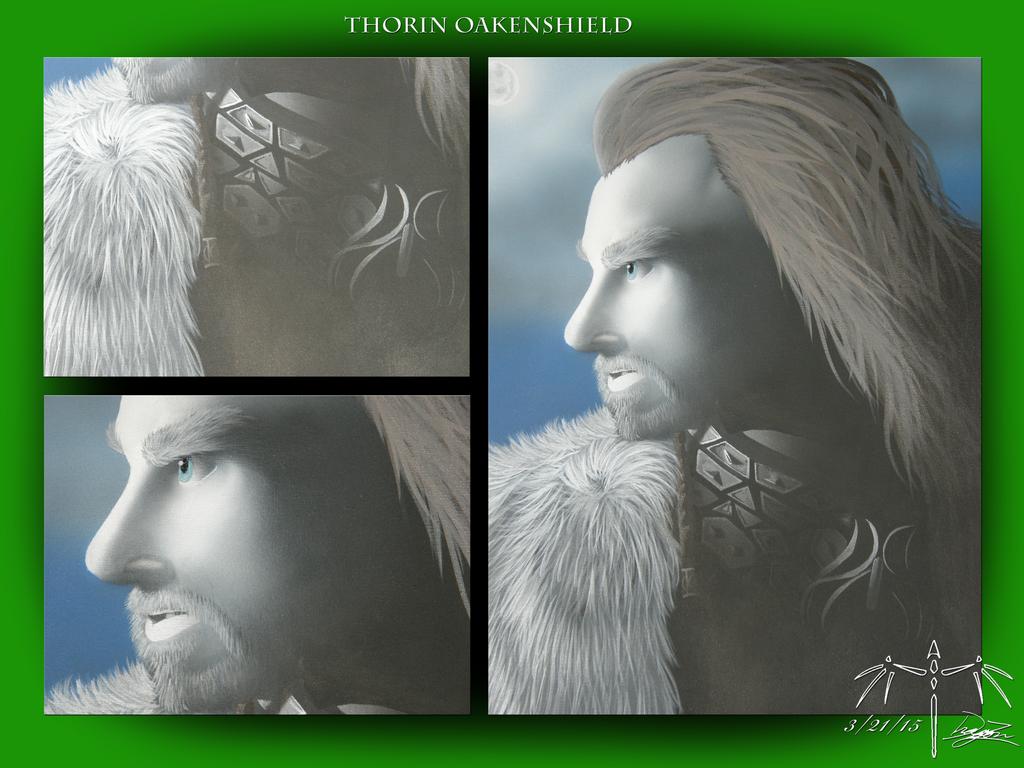 Thorin Oakenshield by Dizzidragonz