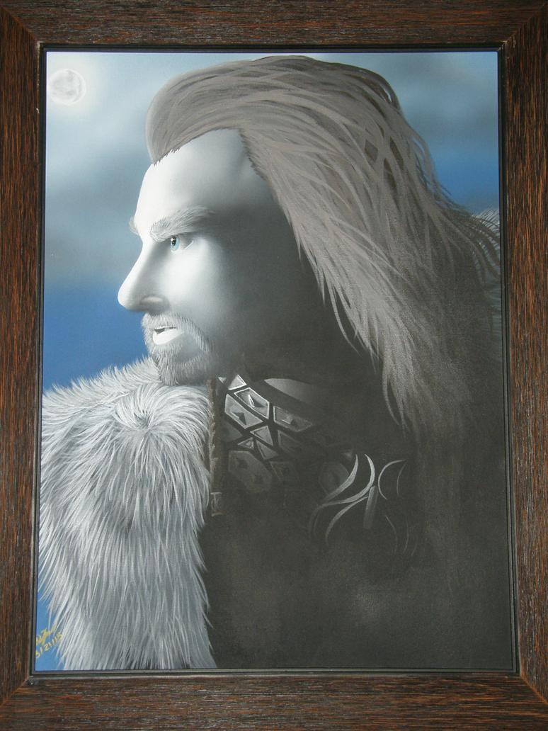 Framed Thorin Oakenshield by Dizzidragonz