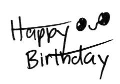 Happy Birthday - Wrote by Reine by Re1ne