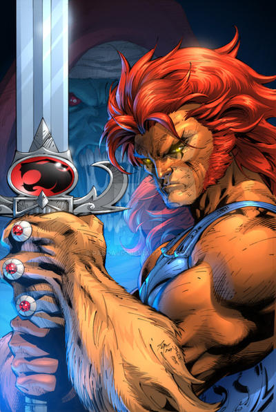 Jim Lee's Lion-O by paddavis