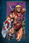 Thunder Punch He-man