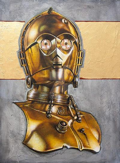 Portrait of a Droid (Private Commission)