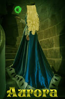 From Behind the Princess - Princess Aurora by respositob