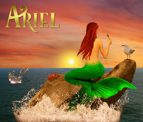 From Behind the Princess - Princess Ariel