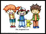 Original Pokemon Trio