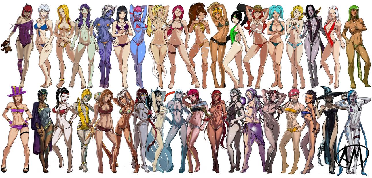 LoL Swimsuit Wallpaper 1.0 by Roooommmmelllll