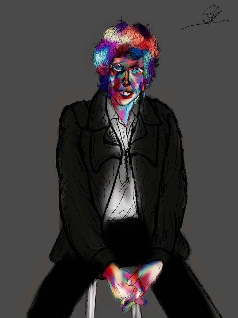 Bob Dylan 1986 (Colours) by ShortBackAndSides