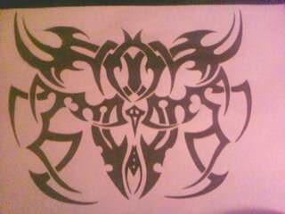 tribal design by gbftattoos