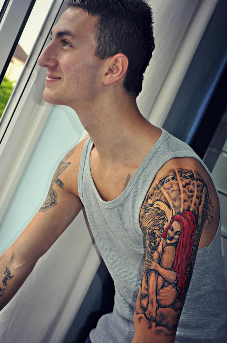 Guys With Tattoo Sleeves Tumblr