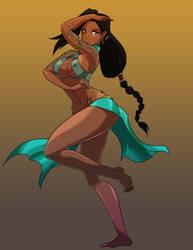 Ssisathi, Yuan-Ti Dancer
