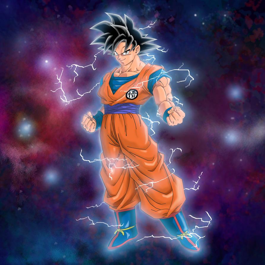 Goku-sketch-9-1-18 by JohnnycanoJr