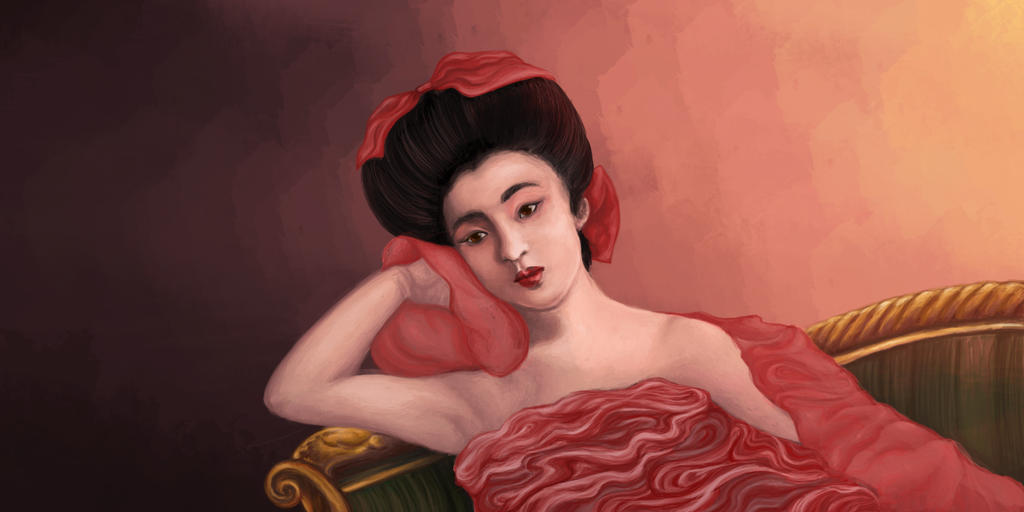 Asian Lady Thing by SomethingSchmancy