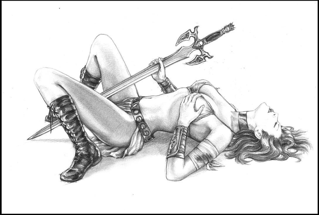 fantasy girl by Kremel
