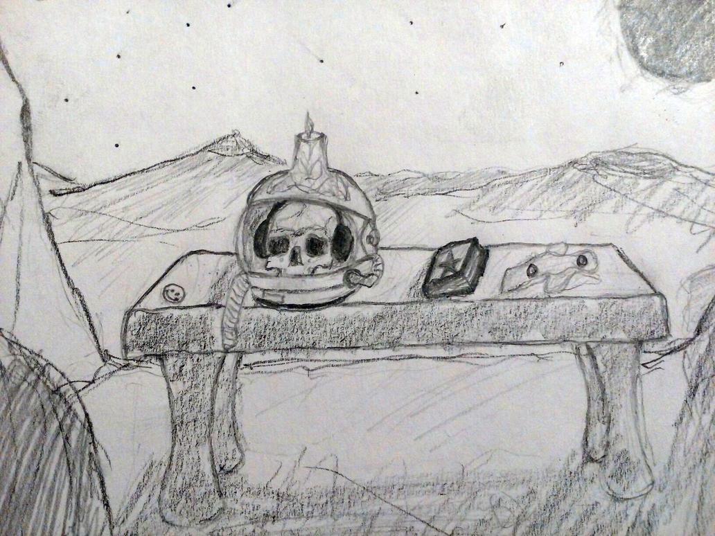 cG sucks at drawing #8: In the villa of Ormen by cuestickGenius