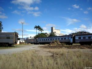 Trem de prata abandonado 2