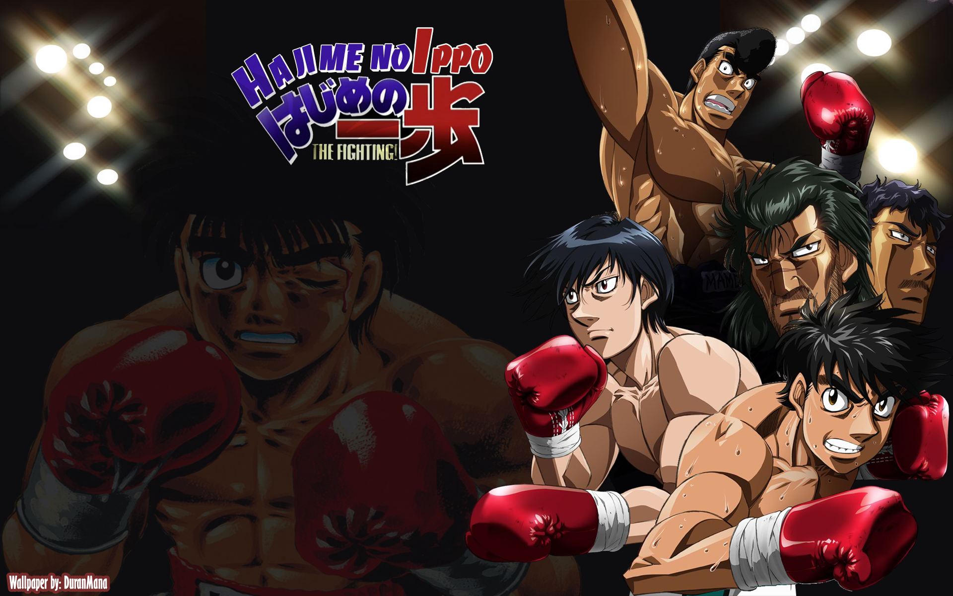Hajime No Ippo New Challenger By Duranmana On Deviantart