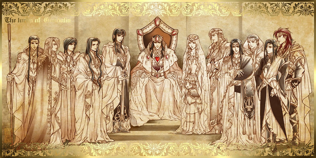 Lords of Gondolin by Kazuki-MENDOU
