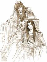 Fingon and Maedhros by Kazuki-MENDOU