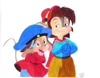 Fievel e Tommy. by montageofheck