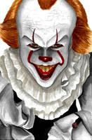Inktober #28 - Beep beep, Richie [Clown] by montageofheck