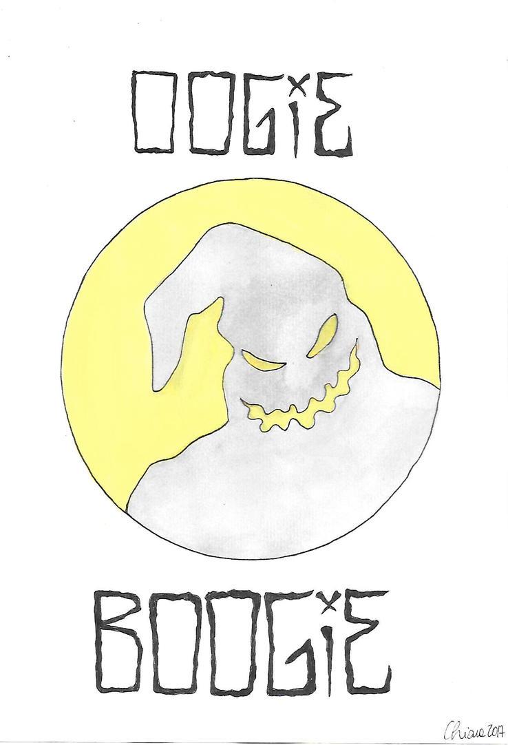 Inktober #30 - Oogie Boogie [Ghost] by montageofheck