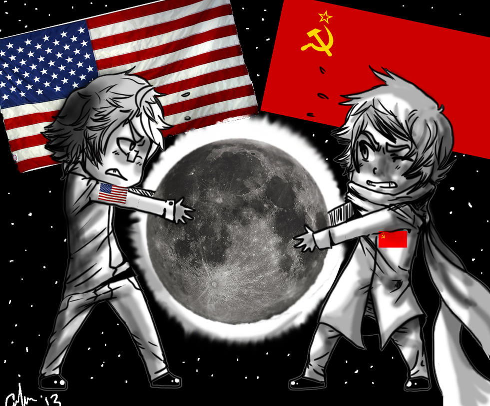 Thesis statement for the space race between the US and USSR?