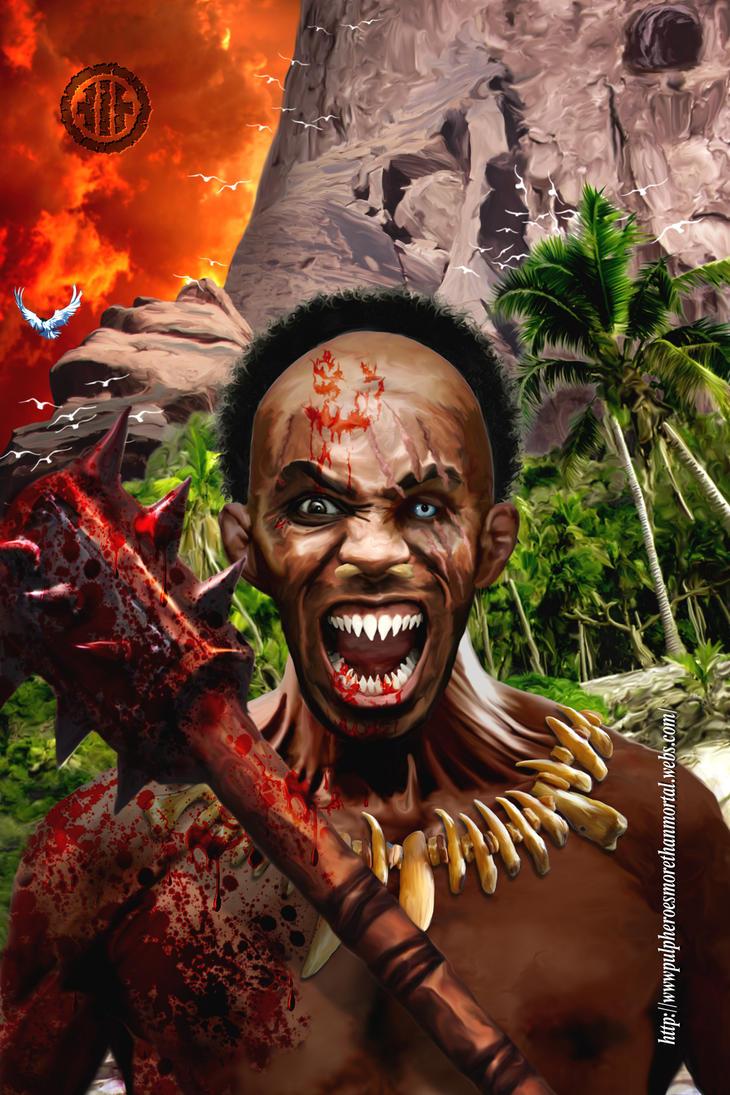 Cannibal postcard by WayneReinagel