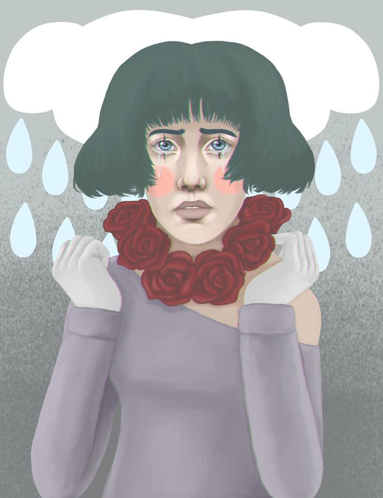Sad clown by TheTrueDreamer