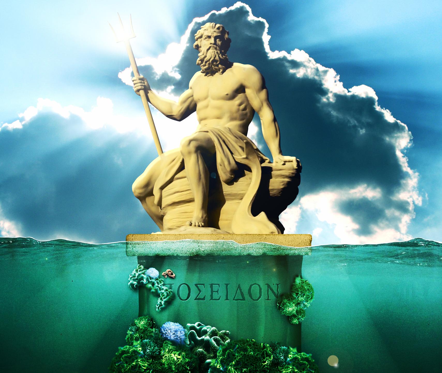 Poseidon By Icecold555 On Deviantart