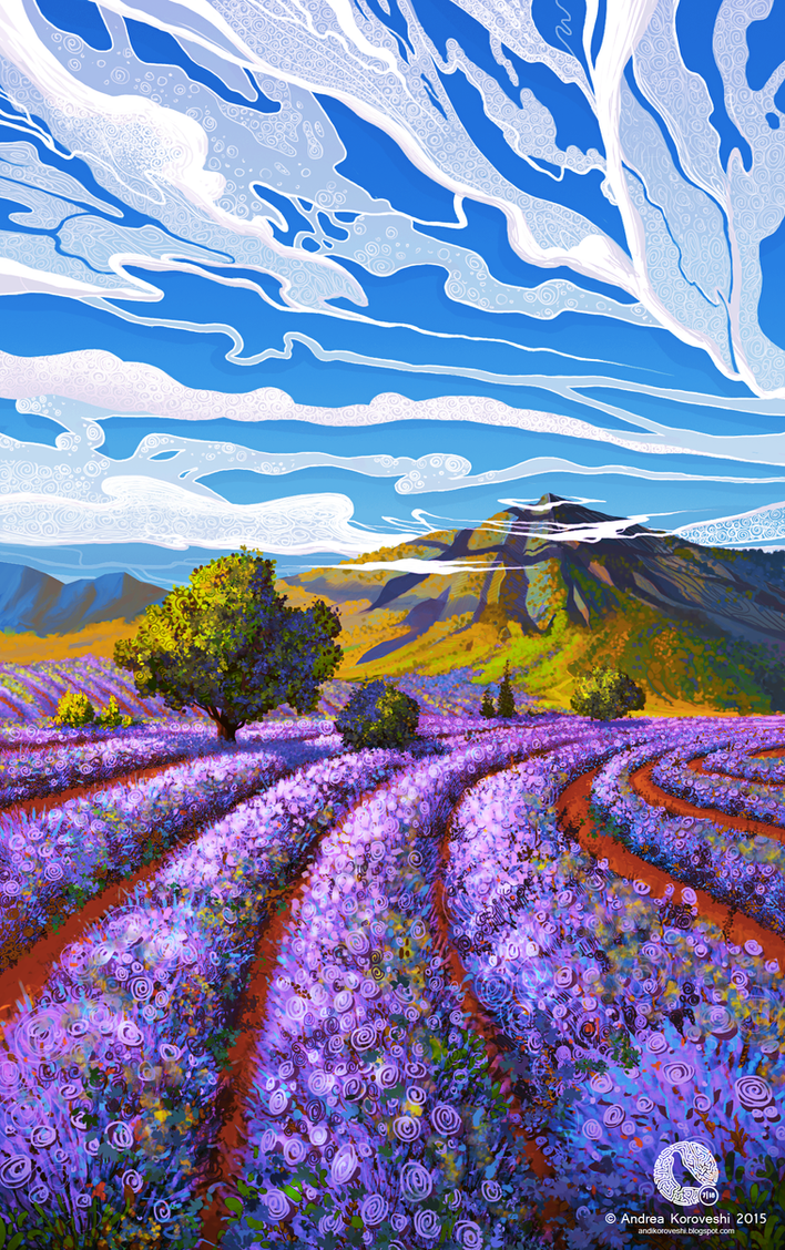 Lavender Season by icecold555