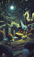 Athelthryth's Workshop of Spells by icecold555