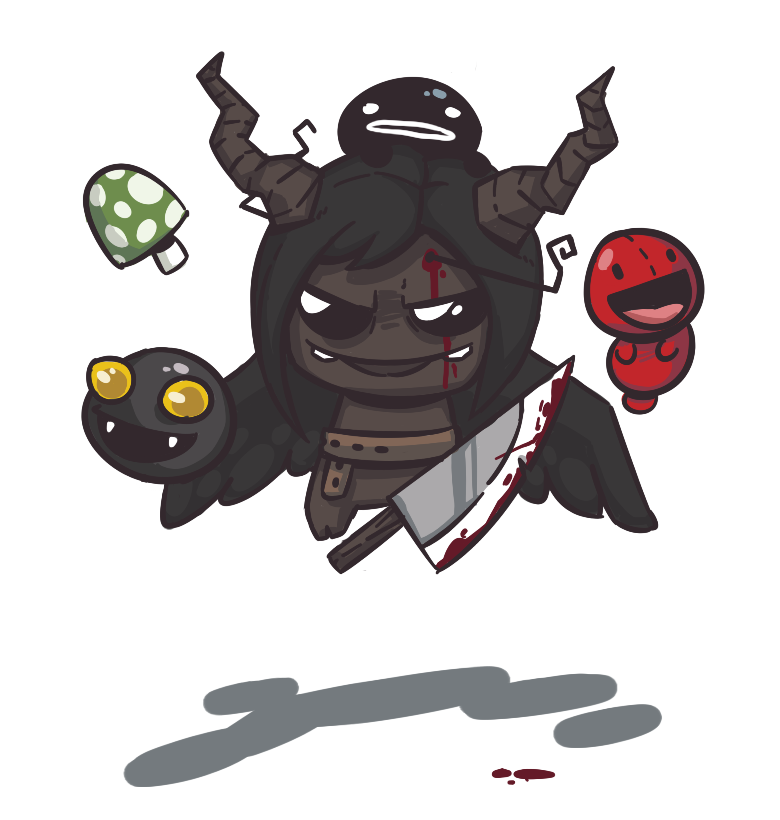 Binding Of Isaac Fanart By 8acon On DeviantArt