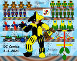 Toys Background with Toyman Clown by jlsinc