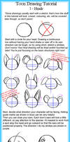 Toon Drawing Tutorial 1 - Heads