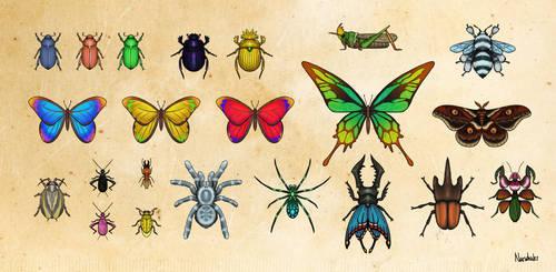 Monster Hunter Bugs