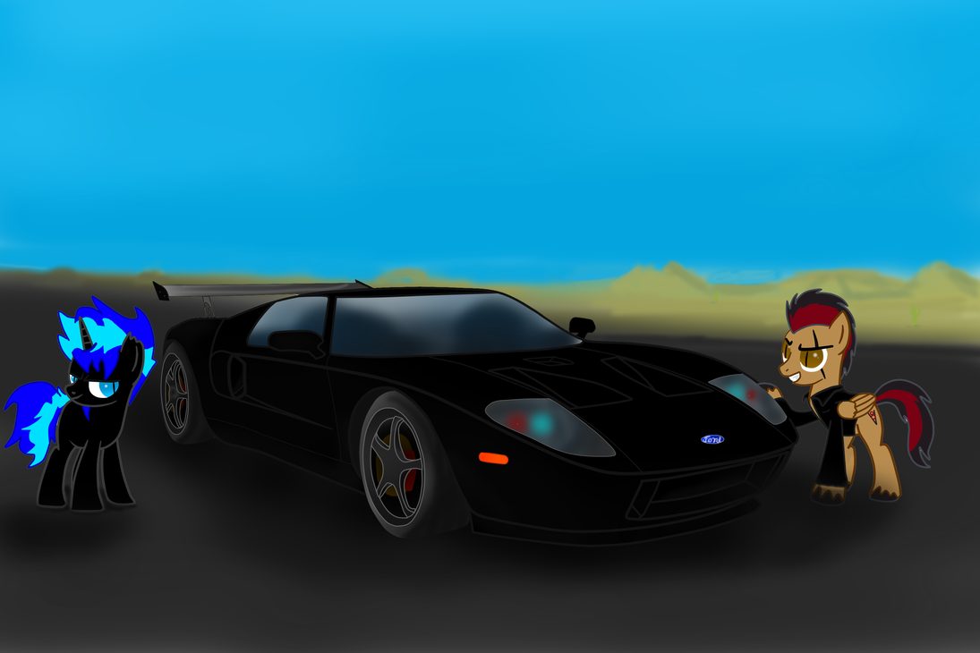 Black Napalm and Rino's Ford Gt ! by Mennorino